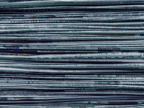Staple of newspapers