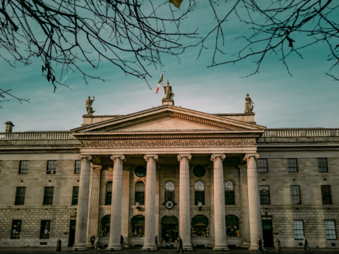 Government building in Ireland
